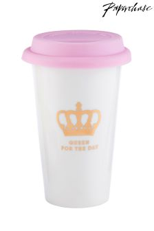 Paperchase Queen Ceramic Take Out Cup