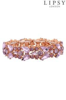 Lipsy Cluster Crystal Stretch Wristwear