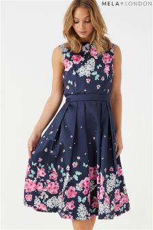 Mela London Gradual Floral Prom Dress
