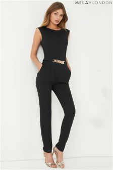 Mela London Belted Jumpsuit