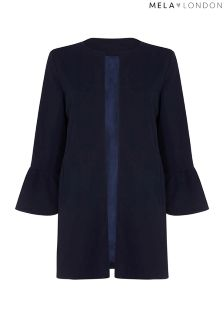 Mela London Curve Trumpet Sleeve Jacket