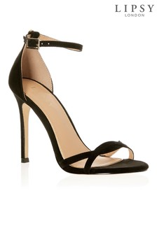 Lipsy Twist Strap Barely There Sandals