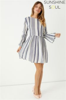 Sunshine Soul Smock Stripe Dress