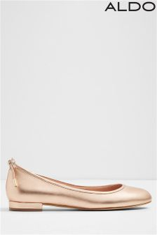 Aldo Embellished Removable Strap Ballerinas