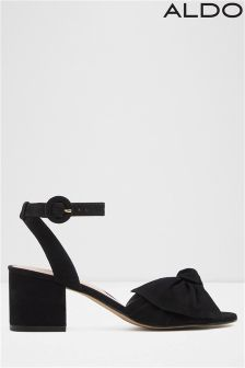 Aldo Bow Detail Block Heels