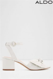 Aldo Mid Heel Bow Sandals