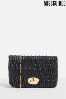 Missguided Quilted CrossBody Bag