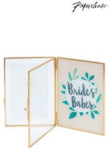 Paperchase Bridesbabes Double Frame