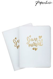 Paperchase Wedding Passport Holder Set