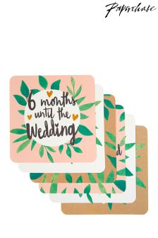 Paperchase Wedding Bridal Moments Photo Cards - Set Of 10