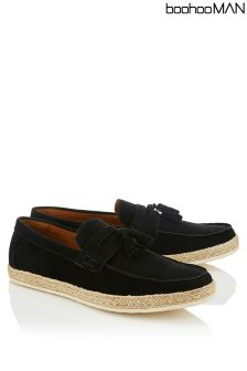 Boohoo Man Weave Front Loafer