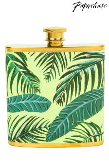 Paperchase Palm Print Hip Flask