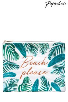 Paperchase Beach Please Pouch
