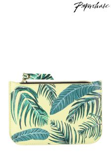 Paperchase Palm Print Coin Purse
