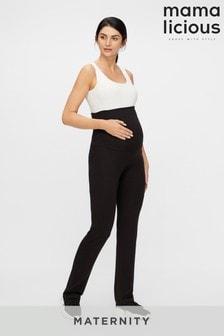 Mamalicious Maternity Jersey Yoga Legging