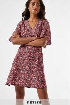 Dorothy Perkins Petite Ditsy Shirred Dress