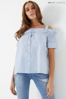 Mela London Bow Detail Blouse