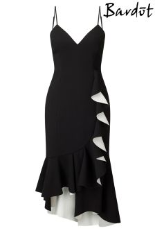 Bardot Kiki Bonded Ruffle Dress