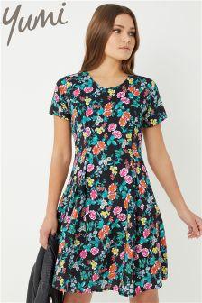 Yumi Garden Print Dress