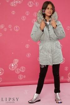 Lipsy Girl Faux Fur Reversible Parka Jacket