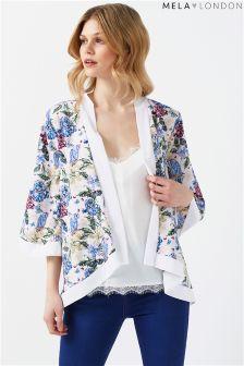Mela London Print Kimono