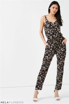 Mela London Drawstring Jumpsuit