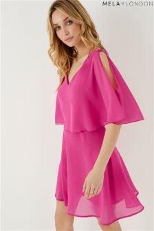 Mela London Overlay Dress