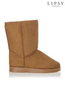 Lipsy Faux Fur Boot