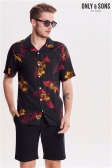 Only & Sons Resort Printed Shirt
