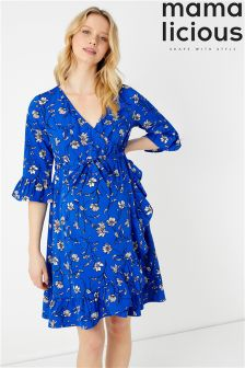 Mamalicious Maternity Wrap Dress