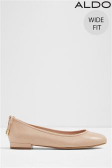 Aldo Wide Fit Bow Back Ballerina