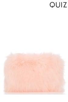 Quiz Faux Fur Bag