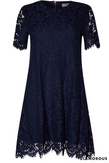 Glamorous Curve Lace Shift Dress