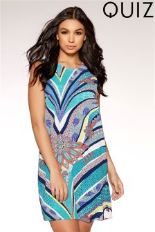 Quiz Abstract Print Tunic Dress