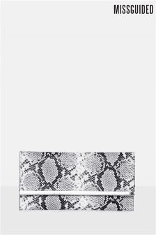 Missguided Metal Trim Clutch