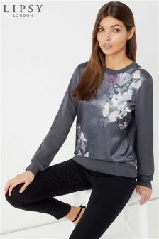 Lipsy Satin Butterfly Jumper