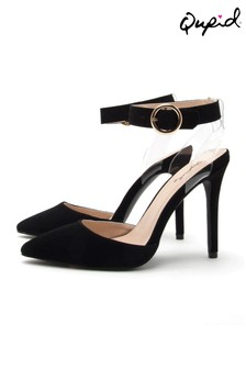 Qupid Court Shoes With Ankle Straps