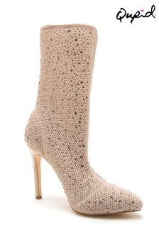 Qupid Embellished Boots