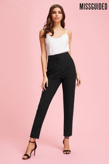 Missguided Tailored Cigarette Trousers