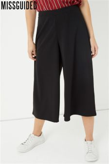 Missguided Crepe Culottes