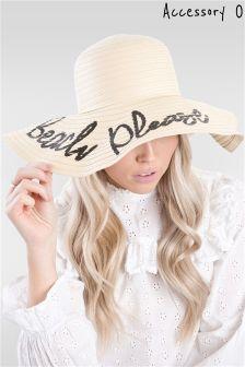 Accessory O Straw Hat