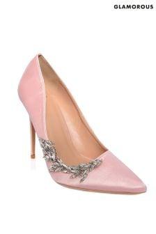 Glamorous Embellished Court Heels
