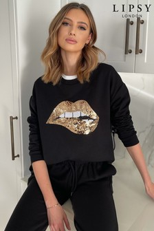 Lipsy Slash Neck Sweat