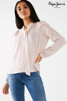 Pepe Jeans Pussy Bow Shirt