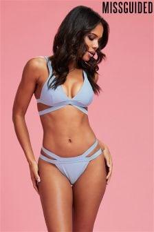 Missguided Cross Front Bikini