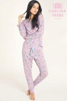 Chelsea Peers Shower Cats Long Pyjamas