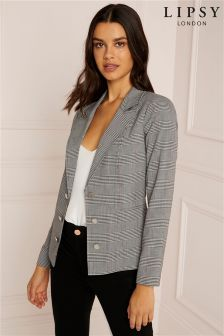 Lipsy Tailored Check Blazer