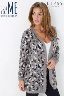 Lipsy Leopard Print Cardigan