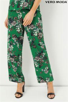 Vero Moda Petite Floral Trousers