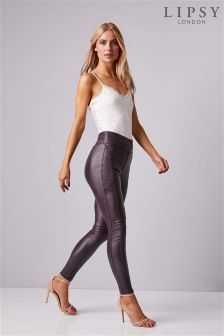 Lipsy Stella Coated Jeggings